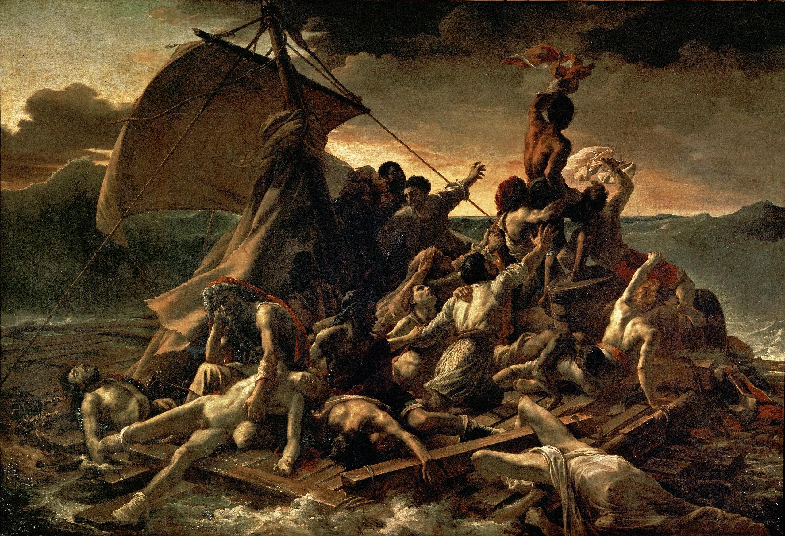 2560px-JEAN_LOUIS_THÉODORE_GÉRICAULT_-_La_Balsa_de_la_Medusa_(Museo_del_Louvre,_1818-19)