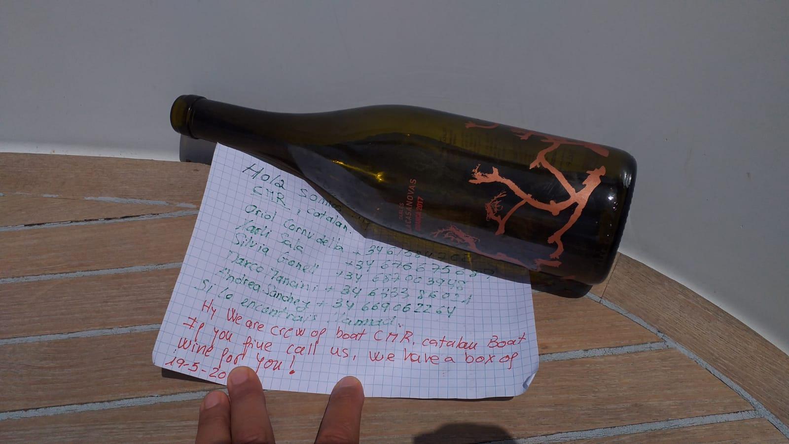 Chi trova una bottiglia trova un racconto