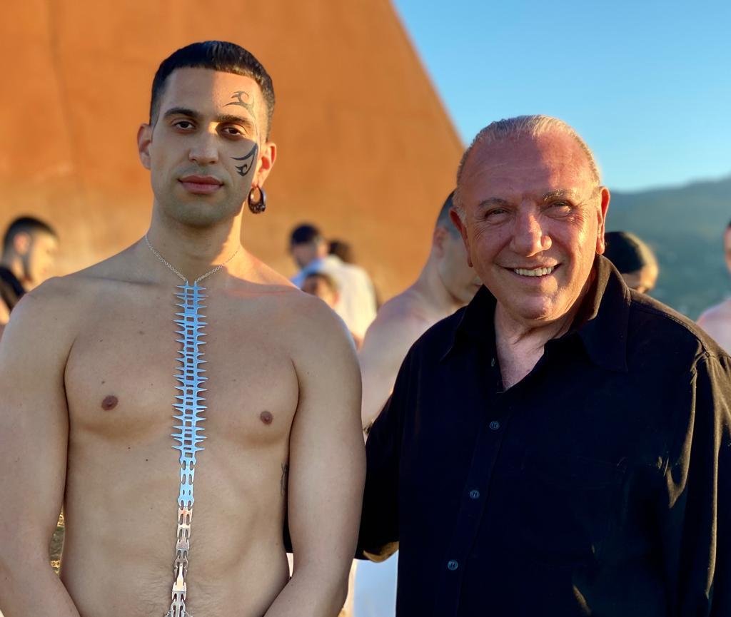 Mahmood e Antonio Presti